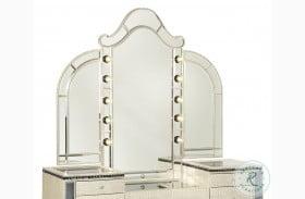 Hollywood Swank Crystal Croc Vanity Mirror
