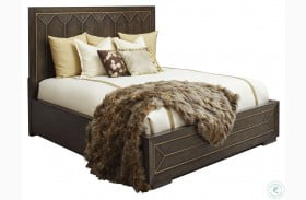 WoodWright Brown Eichler Panel Bed