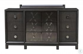 Radiance Black Metal Dresser