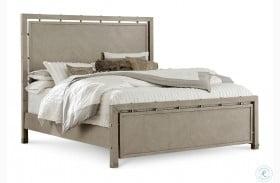 Sutton Place Grey Oak Panel Bed