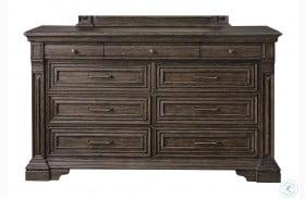 Bedford Heights Estate Brown Dresser
