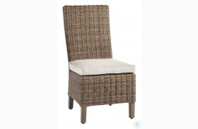 Beachcroft Beige Chair with Cushion Set of 2
