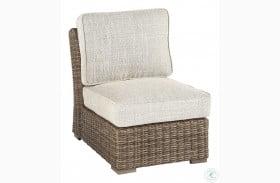 Beachcroft Beige Armless Chair