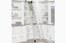 Provence Vintage Alabaster Library Ladder