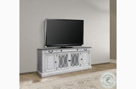 "Provence Vintage Alabaster 76"" TV Console"