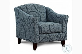 Northwest Paloma Grey And Blue Accent Chair