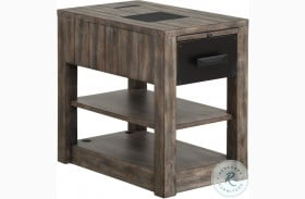 River Rock Siltstone Chairside End Table