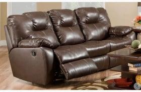 Avalon Dark Roast Double Reclining Sofa
