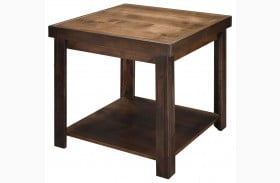 Sausalito Whiskey Finish End Table