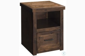 Sausalito Whiskey One Drawer File Cabinet