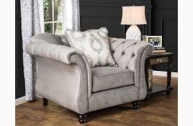 Antoinette Dolphin Gray Chair