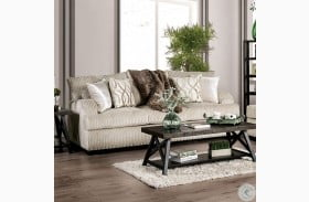 Zayla Ivory Sofa