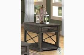 Sundance Smokey Gray End Table
