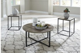 Wadeworth Two Tone 3 Piece Occasional Table Set