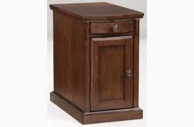 Medium Brown Chairside End Table