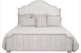 Modern Authentics Beachcomber Distressed Panel Bed
