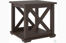 Camiburg Warm Brown End Table
