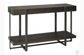 Drewing Dark Brown Console Table