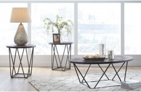 Neimhurst Brown 3 Piece Occasional Table Set