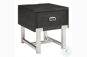 Chisago Black End Table