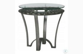 Prossimo Bronze Metallic Veneto Lamp Table