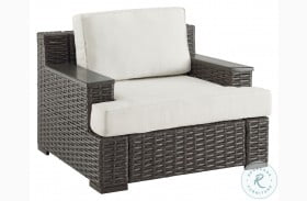 DS-D474-701-1 Wicker Wood Capped Arm Chair
