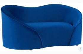 Poodle Navy Pet Bed