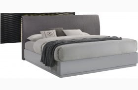 Tribeca Grey Platfrom Bed