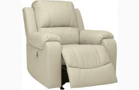 Rackingburg Cream Rocker Recliner