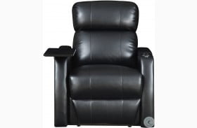 Cecille Black Power Recliner