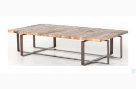Wesson Oxidized Iron Brant Coffee Table