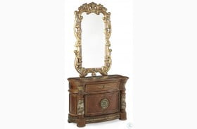 Villa Valencia Bedside Chest with Mirror