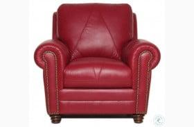 Sara Cherry Italian Leather Chair