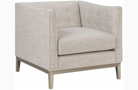 City Chic Contemporary Button Tufted Milan Chair