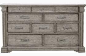 Madison Ridge Soft Grey Dresser