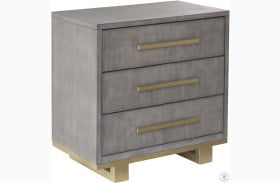 Carman Shagreen Nightstand