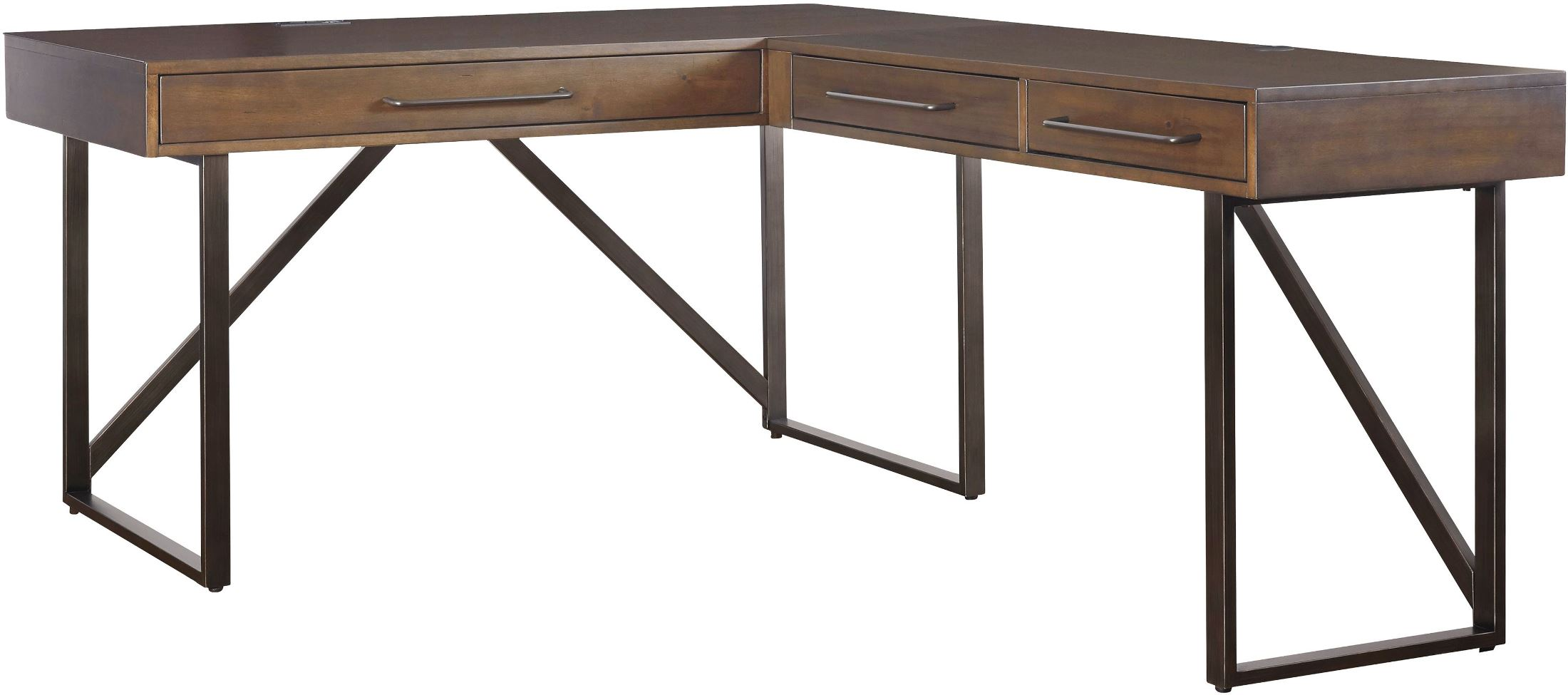Image Of Item Starmore Brown Home Office Small L Desk
