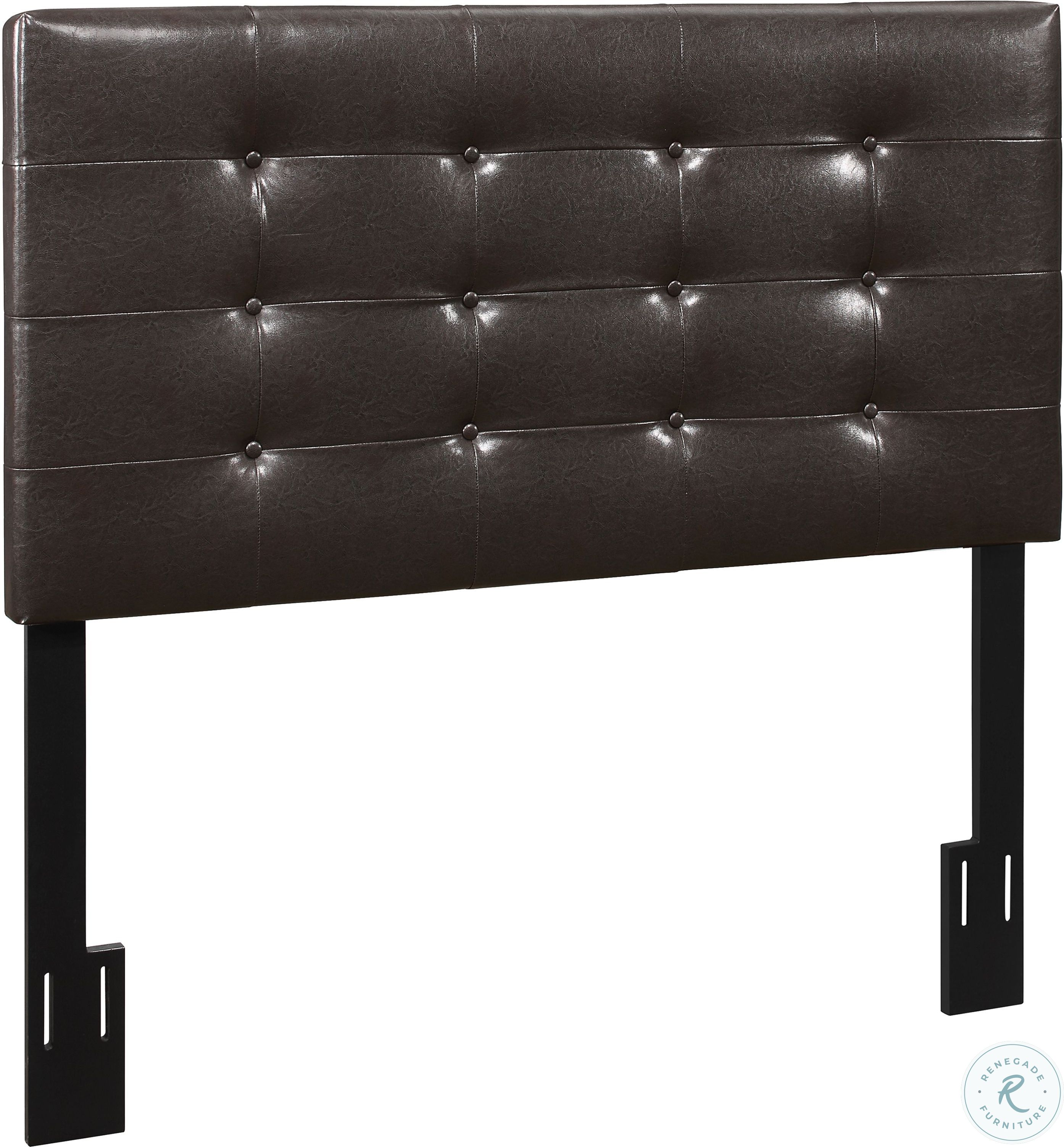 Townsend Black Full Queen Upholstered Headboard From Pulaski Coleman Furniture