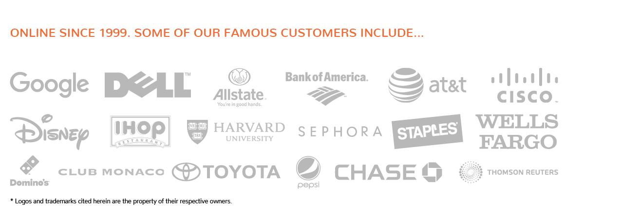 big brands customers